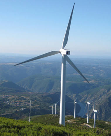 Wind power project in Africa